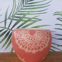 Pink Mandala bowl