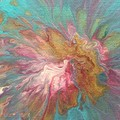 """""""Tropical Jellyfish"""" Abstract original painting - Free shipping Australia"""