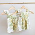 Vintage Upcycled Flutter Toddler Dress Size 1