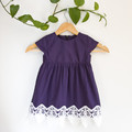 Upcycled Occasion Lace Toddler Dress Size 2