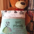 """""""Best Friends"""" Reading/Pocket Cushion (cover only)"""