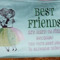 """Best Friends"" Reading/Pocket Cushion (cover only)"