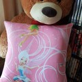 """""""Flying Tinkabell"""" Reading/Pocket Cushion  (cover only)"""