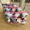 Kitty Themed Makeup Purse