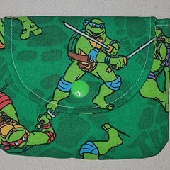 Teenage Mutant Ninja Turtle coin pouch