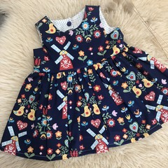 DUTCH DREAMS dress, sz 000