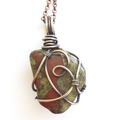 Dragon's Blood Jasper Pendant