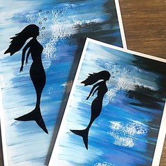 Mermaid Print - A3, A4 and A5 sizes available