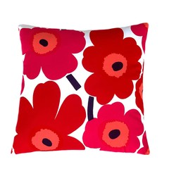 Valentines Day Red Poppy Sofa Pillow.