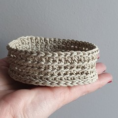 Hemp Tumble + Trinket Bowl