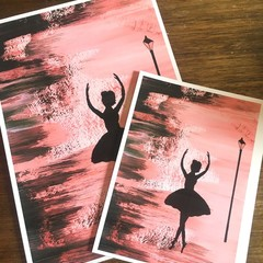 Ballerina Twirl Print  - A3, A4 and A5 sizes available