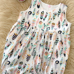 GYPSY DREAMS ROMPER, Sz 000, 00 & 0
