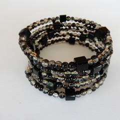 Black Wrap Bracelet