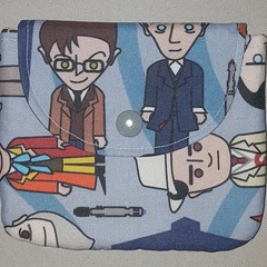 All the Doctors coin pouch
