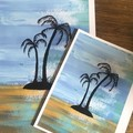 Palm Tree Print - A5, A4 & A3 Sizes Available