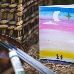 Sunset Greeting Cards | Anniversary