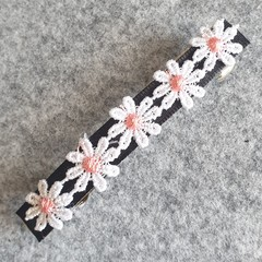 Judy Pink Daisy Hair Clip