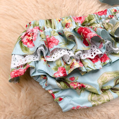 RUFFLE LOVE bloomer bummies, sz 000