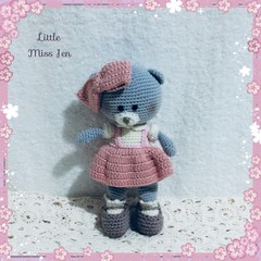 Crocheted Amigurumi Teddy