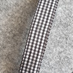 Sandy Gingham Hair Clip