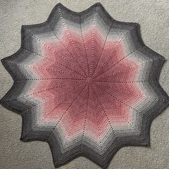 Star blanket- Baby blanket or Lap Blanket (only one available)