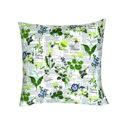 Botanical Print Patio Chair Cushion.