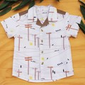 Boy's Button up Shirt - Possum Highway - Size 3