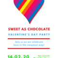INVITATION - CUSTOMISED PRINTABLE DOWNLOAD, VALENTINES DAY PARTY!