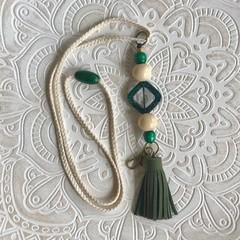 Designer Lanyard- Green Supreme