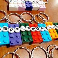 KEYRINGS - Brick Face Keyrings