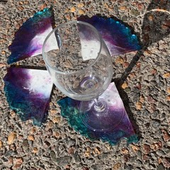 Resin 4pc Coaster Set
