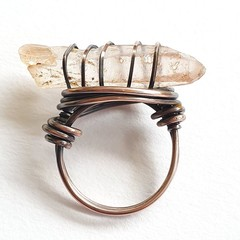 Blush Quartz Ring