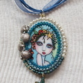 Beautiful Mermaid Pendant / Necklace