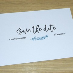 Save the date cards  - Wedding or Engagement