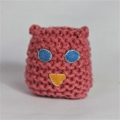 Soft Knitted Owl