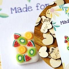 Fruity Stud Earrings