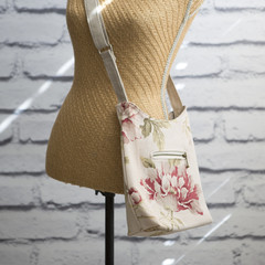 the Mini Hobo Bag - floral