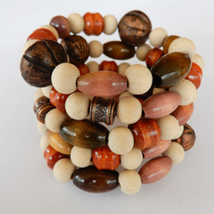 Wood Bead Wrap Bracelet