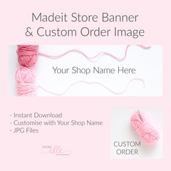 Madeit Store Banner & Custom Order Image - Wool