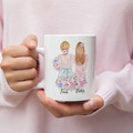Bridesmaid Matron of Honour Personalised Ceramic Coffee Tea Mug Cup - CM020