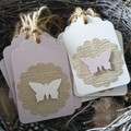 Butterfly Gift Tags | Set of 12