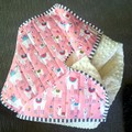 Baby quilt/blanket, playmat, change mat, pram blanket, baby shower gift