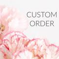 Madeit Store Banner & Custom Order Image - Pink Carnations