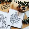 Pack of Botanical Greeting Cards, Australian Native Flowers