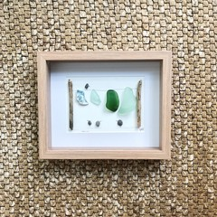 Hanging Out - Sea Glass washing line