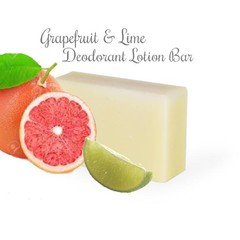 Grapefruit & Lime Natural Deodorant (that works!)Large Plastic Free, Vegan optio