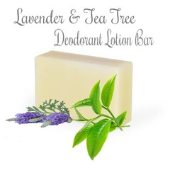 Lavender and Tea Tree Deodorant Lotion Bar 100 gram