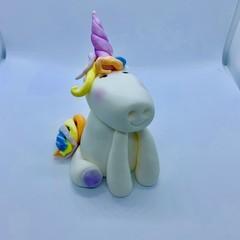 Unicorn Cake Topper   Fondant   Birthdays Cake   Baby Showers