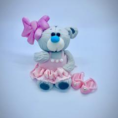 Teddy Bear Cake Topper   Baby Showers   Birthdays   Fondant