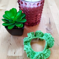 Crochet Scrunchie (various colours)